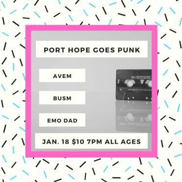 port hope goes punkIG